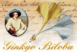 Jw Von Goethe Gedichte Ginkgo Biloba Reim Vers Gedicht