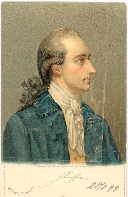 Sonett Goethe